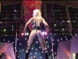 Un caliente show de striptease sobre el escenario