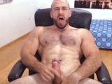 Gay velludo haciéndose un buen pajote delante de la webcam