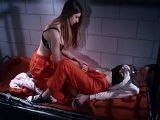 Se follan estas dos reclusas en la celda, vaya follada lesbica!