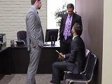Vaya trío que se montan en estas oficinas, vaya follada!